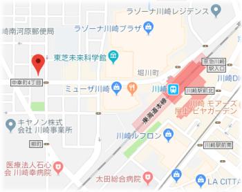 川崎市西口地図