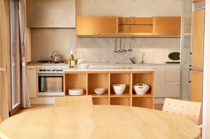 お家のキッチン